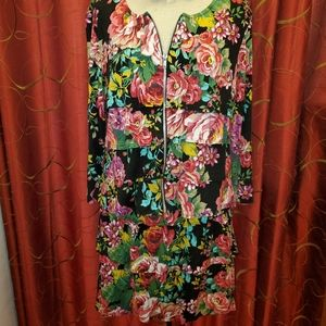 Coco Bianco 2pc Floral Dress